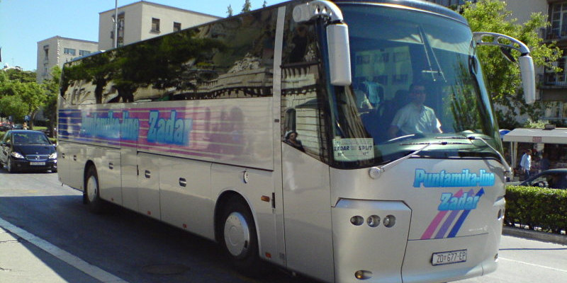 Bus Rental Puntamika Line Zadar Croatia Europe